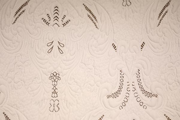 棕色古典针织空气层