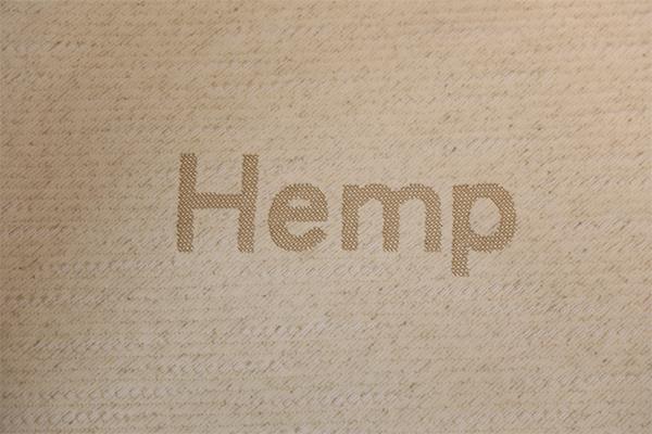 大麻针织空气层