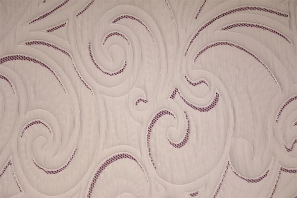 紫色年轮双面针织空气层