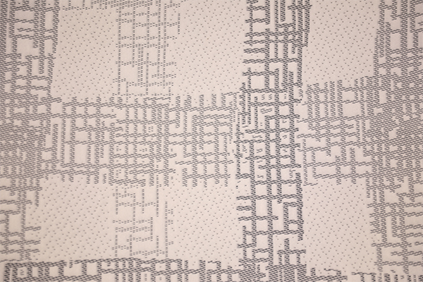条纹柔和针织空气层