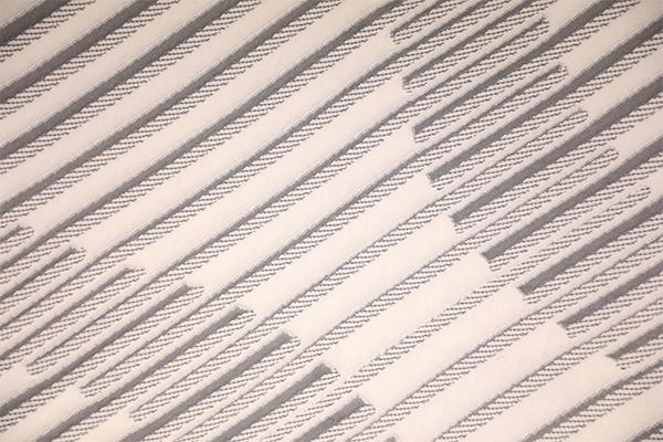 年轮圆形双层针织空气层